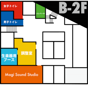 友愛館B2F